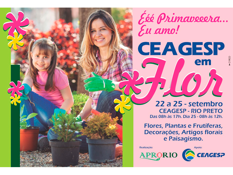 4ª CEAGESP EM FLOR RECEBE ITENS DE DECORAÇÃO E PRODUTORES DE FLORES E PLANTAS - Eloisa Mattos