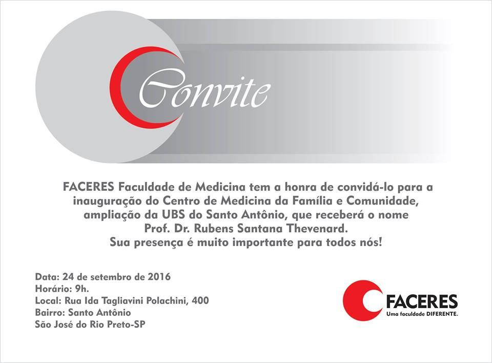 CENTRO DE MEDICINA DA FAMÍLIA E COMUNIDADE – FACERES - Eloisa Mattos