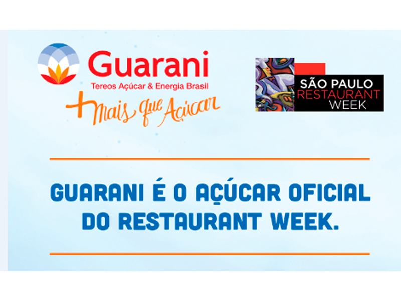 GUARANI TEREOS APOIA 19ª SÃO PAULO RESTAURANTE WEEK - Eloisa Mattos