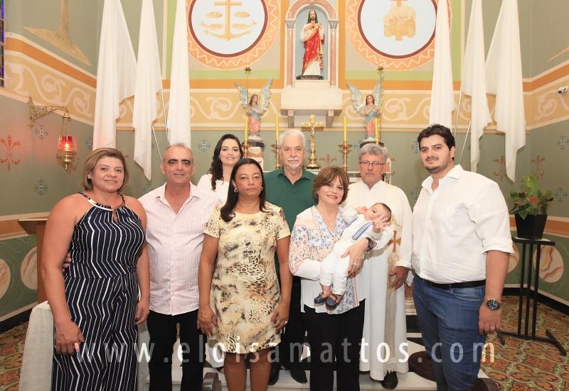 BATIZADO DE HEITOR RODRIGUES BADAN - Eloisa Mattos