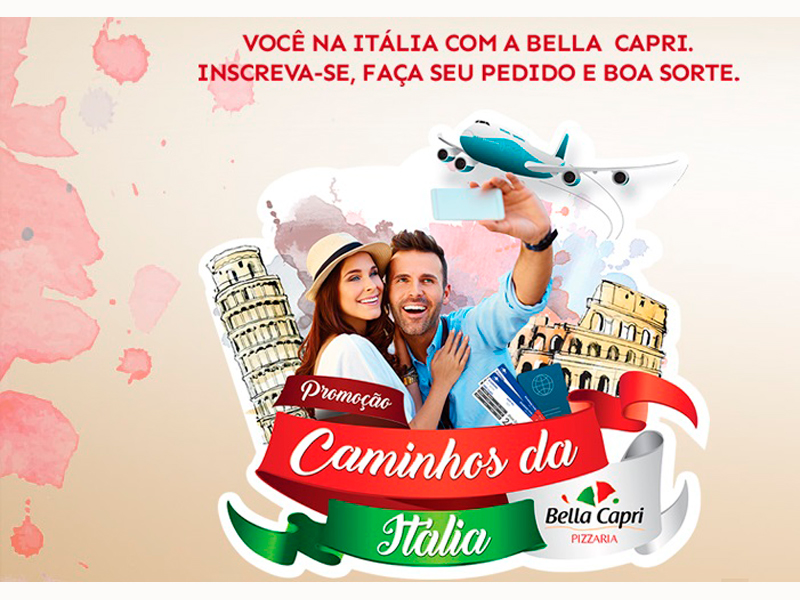 """BELLA CAPRI LANÇA CAMPANHA """"CAMINHOS DA ITÁLIA"""" - Eloisa Mattos"""