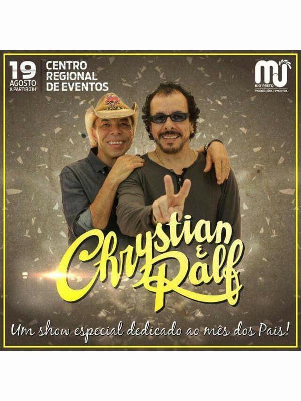 SHOW CHRYSTIAN E RALF - Eloisa Mattos