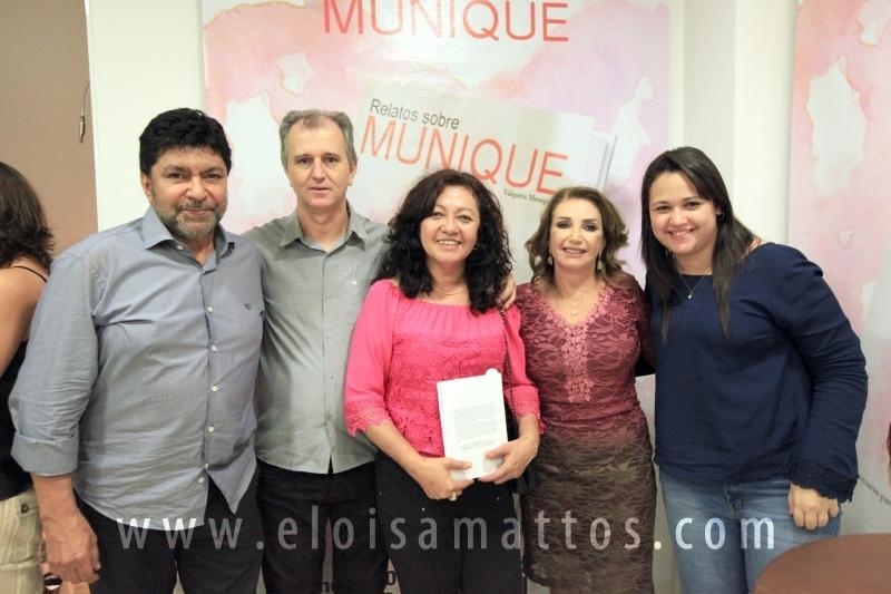 """LANÇAMENTO DO LIVRO """"RELATOS DE MUNIQUE"""", POR VALQUÍRIA MENEGALDO SILVA - Eloisa Mattos"""