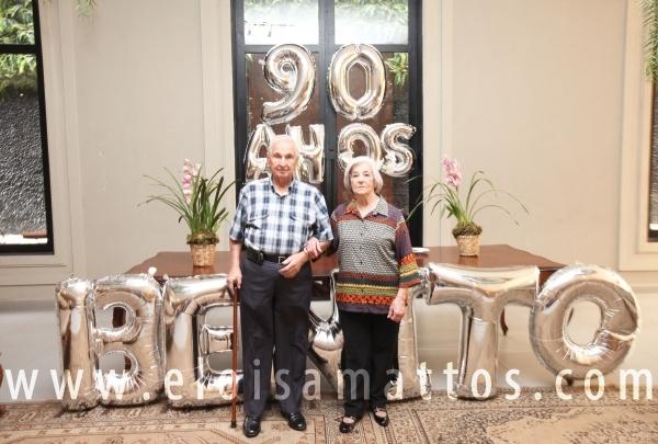 ANIVERSÁRIO DE 90 ANOS DO SR. BENITO - Eloisa Mattos