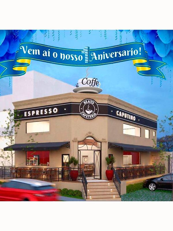 BEATO CAFETERIA COMPLETA 1 ANO E TRAZ CRAQUES DO FUTEBOL E GASTRONOMIA - Eloisa Mattos