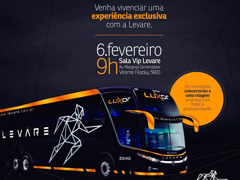 LEVARE LANÇA ÔNIBUS COM TECNOLOGIA ÚNICA NO BRASIL – RELAX SEAT 8706228161