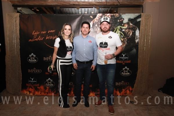 LANÇAMENTO DO EVENTO: O BRASEIRO ENTRE CORTES- ARAÇA TEXAS - Eloisa Mattos