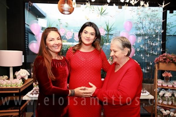 CHÁ DE BEBÊ DA DANIELA- ESPERANDO HELENA CHEGAR! - Eloisa Mattos