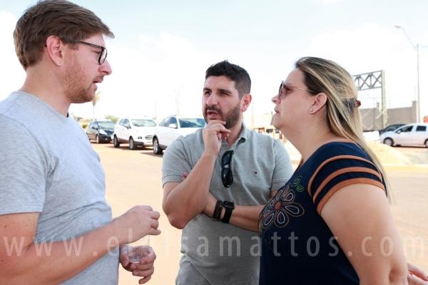 """ESTAÇÃO """"O BRASEIRO"""" NO LANÇAMENTO DO CONDOMÍNIO RESIDENCIAL MARIA JÚLIA - Eloisa Mattos"""