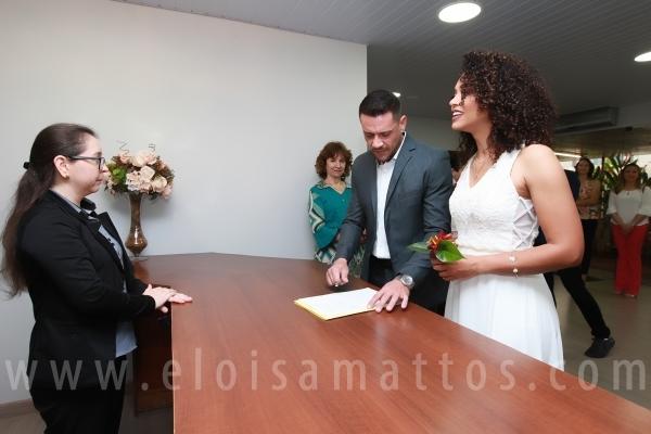 CASAMENTO CIVIL DE FABIANO E CRISTIANE - Eloisa Mattos