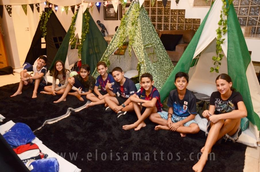 """ANIVERSÁRIO DE 11 ANOS DE JOÃO ARTHUR CASTILHO PESSOA – """"FESTA DO PIJAMA"""" - Eloisa Mattos"""