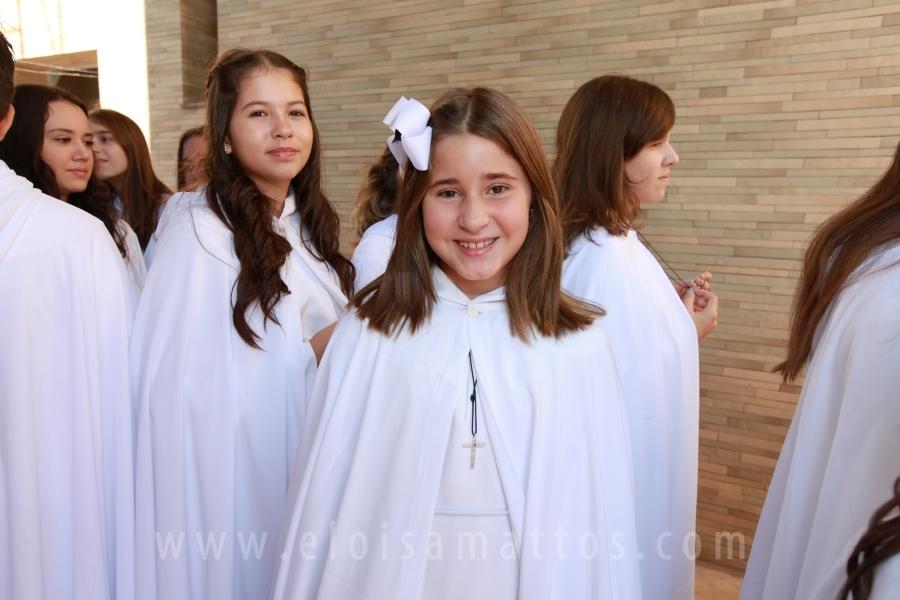 PRIMEIRA COMUNHÃO DE ANA LÍVIA E JOÃO ARTHUR CASTILHO PESSOA - Eloisa Mattos