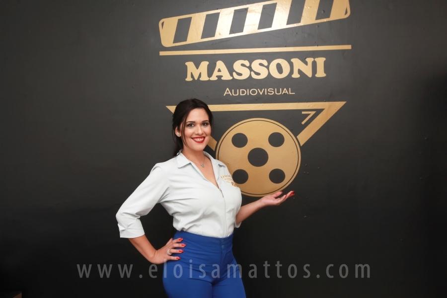 INAUGURAÇÃO MASSONI AUDIOVISUAL - Eloisa Mattos