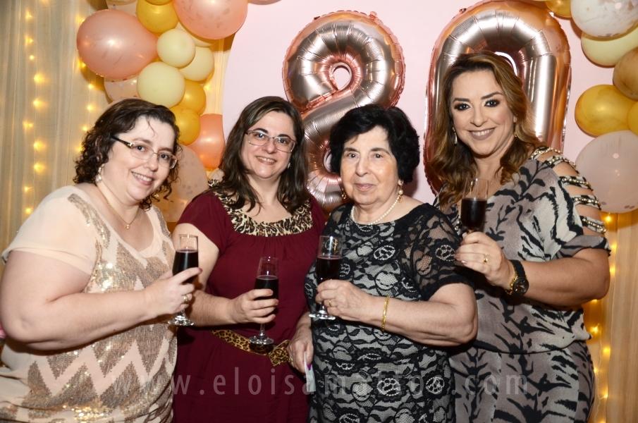 ANIVERSÁRIO SURPRESA DE DONA NIRCE BATISTA ALONSO - Eloisa Mattos
