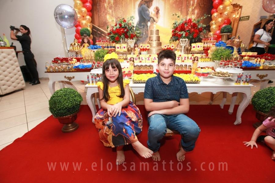 ANIVERSÁRIO DE 7ANOS DA JÚLIA – A BELA E A FERA - Eloisa Mattos
