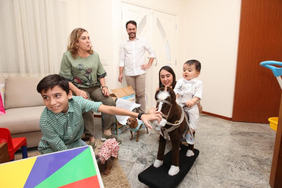 BATIZADO DO ANTÔNIO – PARÓQUIA MARIA MÃE DE DEUS - Eloisa Mattos